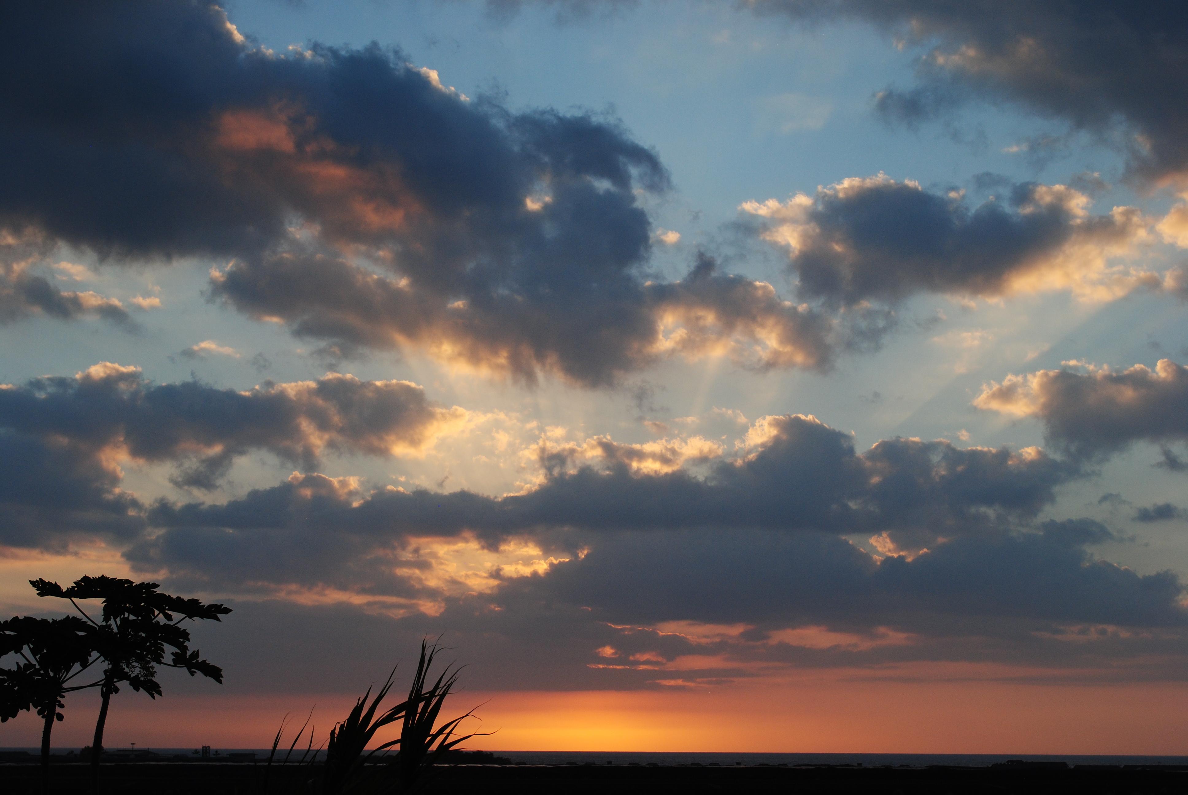 Sunset at KOA